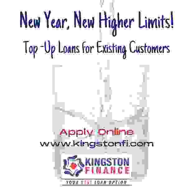 KINGSTON FINANCE LIMITED, TOP UP LOANS