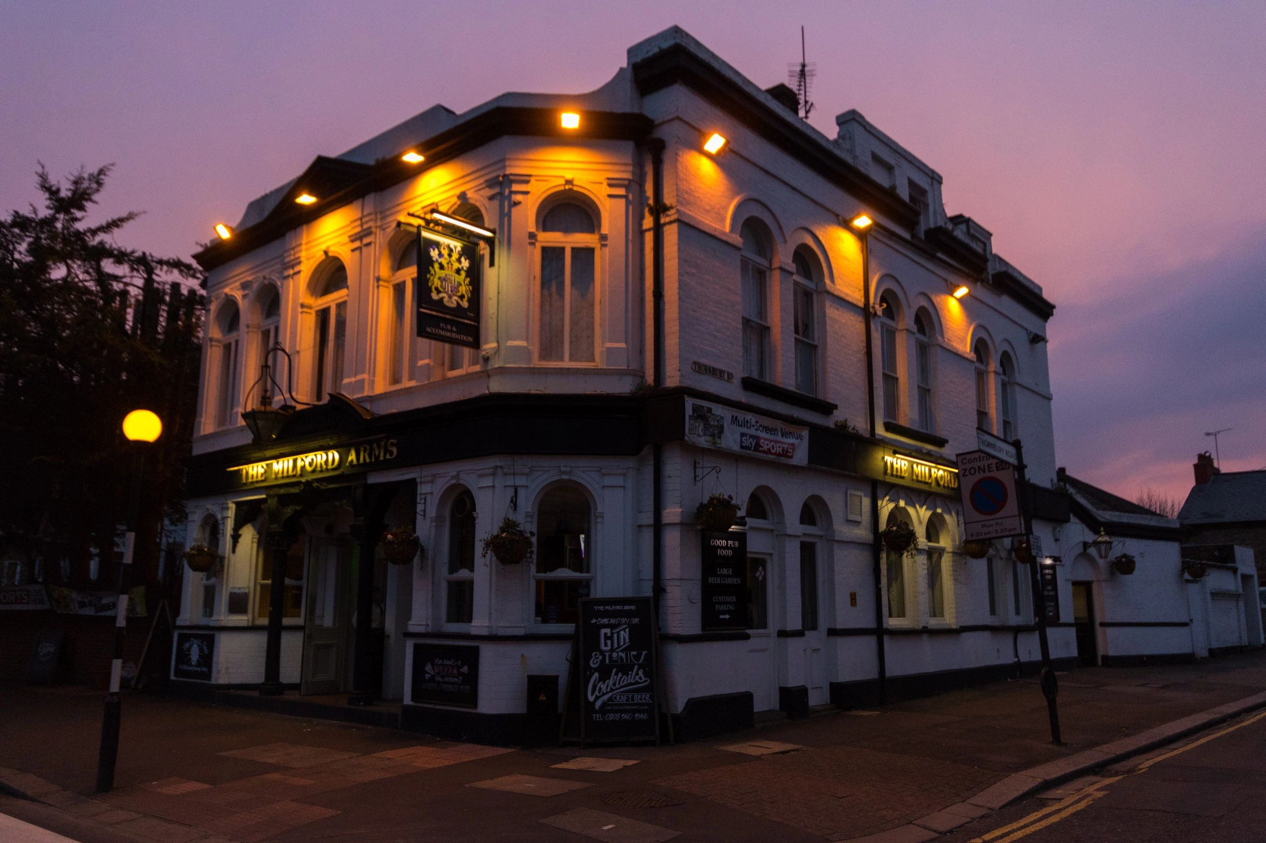 Award winning pub in Isleworth, The Milford Arms