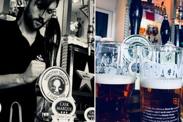 Cask Marque awarded real ales including a locally sourced ale, a favourite and a seasonal special!