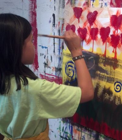 Kids Art Camp, Kids Painting Classes, Oak Park Kids Classes