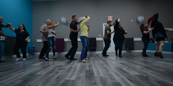 Grande Prairie group dance lessons offered in country, swing, latin, ballroom, and line dancing