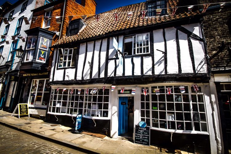 Bells Tea Shop, 38-39 Steep Hill, Lincoln