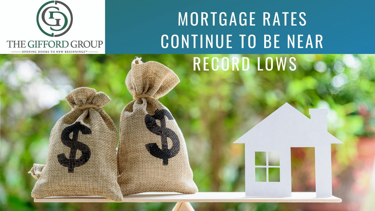Record low interest Rates on Mortgages