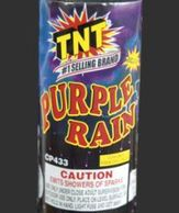 Love this TNT Fireworks Purple Rain fountain...must have for pyros!
