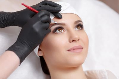 Microblading, phibrows, eyebrows, microblading artist, eyebrow embroidery, semi-permanent makeup