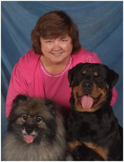 Gym Owner with two dogs