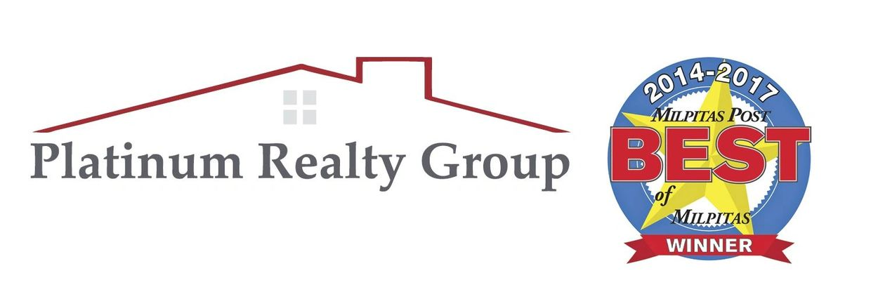 Platinum Realty Group logo  Milpitas Post Best of Milpitas Winner 2014-2017