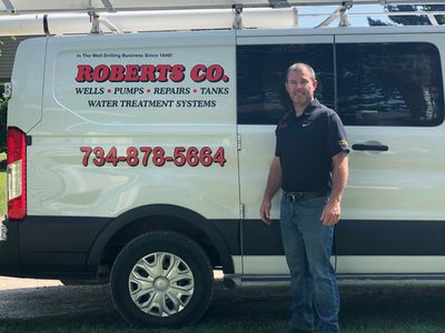 David Roberts, owner Roberts Well Drilling Company