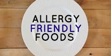 allergy friendly and trained staff