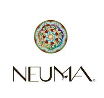 The Neuma logo- one of the hair product lines we carry at the salon