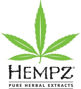 Hempz Pure Herbal Extracts logo- one of the skin care product lines we carry in the salon