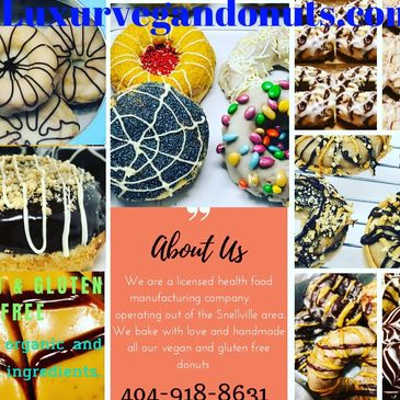 Special Events Vegan and Gluten Free Donuts