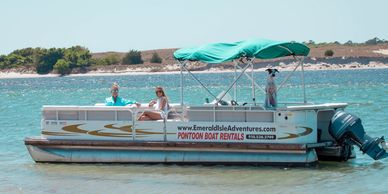 Emerald Isle's premier boat rental company. Pontoon boats available for full and half day rentals.