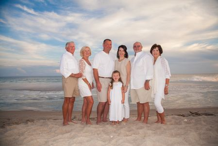 Emerald Isle family  beach portraits, Reunions photographer