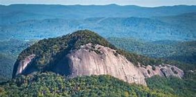 Circumnavigate Looking Glass Rock, rising almost 4,000 feet from it's valley floor.