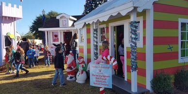 The Candyland Cottages in Andalusia, Alabama