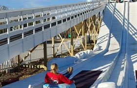 Snow Tubing Hill in Andalusia, Alabama