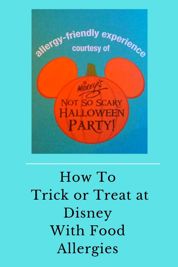 Allergies and Mickey's Not So Scary Halloween Party