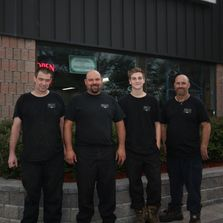 The automotive service technicians at Bell's Automotive Inc. in Stouffville, Ontario.