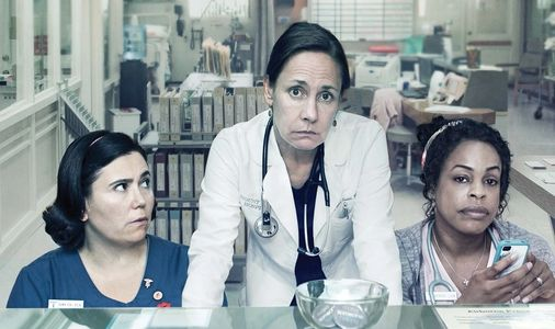 Alex Borstein, Laurie Metcalf & Niecy Nash in 'Getting On.'