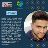 I am Nitish Rai I was diagnosed with Type 1 diabetes 20 years ago, when I was 4 years old.