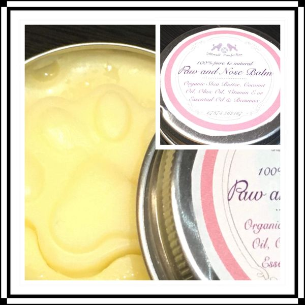 Ultimutt Pawfection Paw and Nose Balm 100% natural ingredients