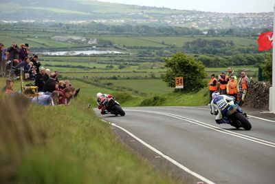 Isle of Man TT Riders at Kates Cottage