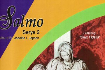 Songs, Psalms, Filipino religious music songbook for Lent and Easter