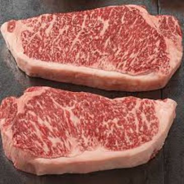Wagyu New York Strip Steaks