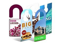 Door Hangers Knockers & Custom Die Cut Calgary