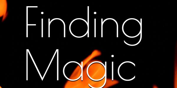 Cover for Finding Magic by Barbara Eberhard