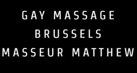 Gay Massage Brussels Masseur Matthew