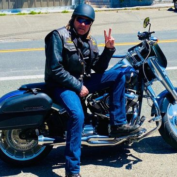 Mark Mason is the president and founding member of the Rolling Dogs of Thunder Motorcycle Riding clu