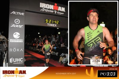 Steve Ironman Finish