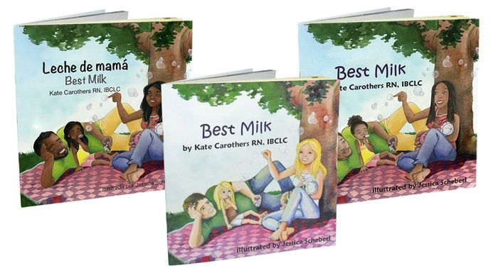 Best Milk children's books. Normalize and explains breastfeeding to young children or new siblings.