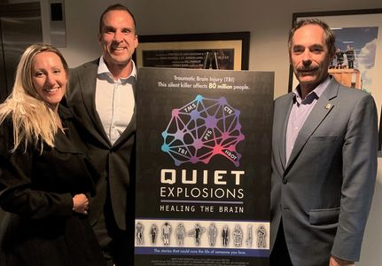 Quiet Explosions, a documentary movie produced by Jerri Sher based upon book by Adam & Andrew Marr.