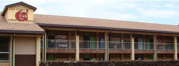 King Kamualii School in Hanamaulu, Kauai, Hawaii.