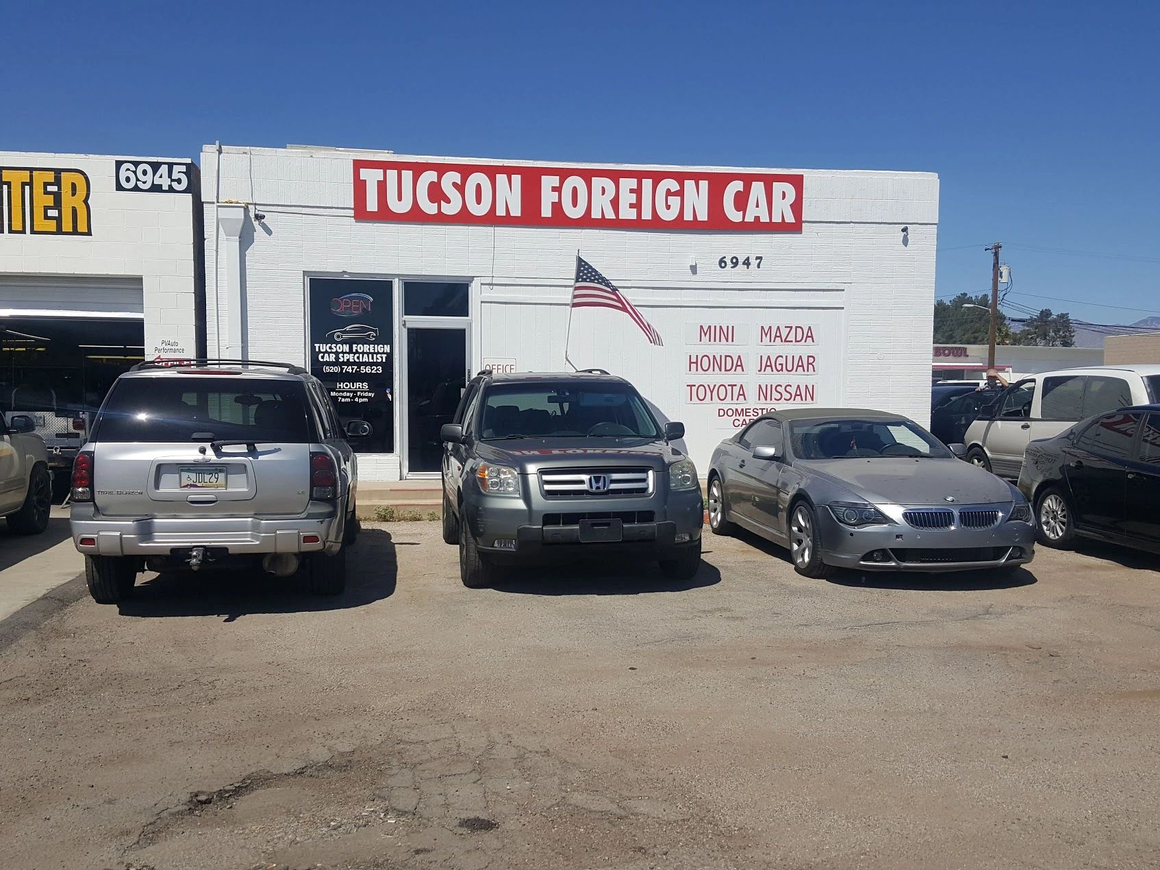 tucson foreign specialists repair