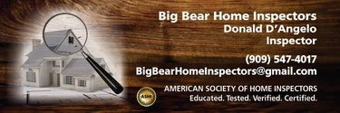 Big Bear Home Inspectors