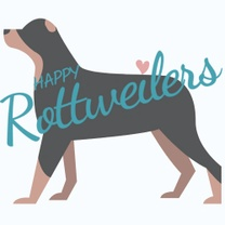 Happy Rottweilers