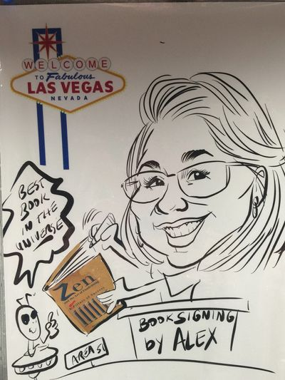 Gerald Atkin of Atkinart.com drew this caricature in October at NCPP 2018 in Las Vegas, NV.