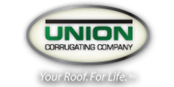 We are proud to offer Union Corrugating Company Metal Roofing products for our customers homes.