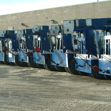 cranes for rent in calgary. Specialize in oil and gas, machine shop, wood working industrial moving.