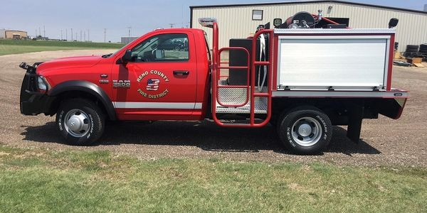 Congrats to Reno County on their new brush truck!