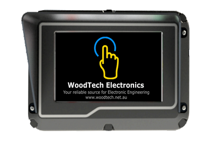 Crane systems, Equipment Touch terminal, Rugged Touch Terminal, CANBus Rugged Touch Displays