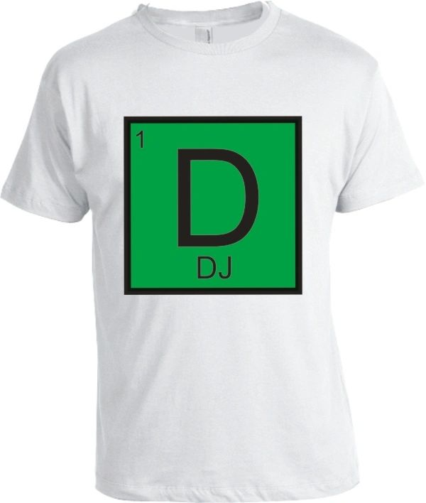 Periodic Table of Hip Hop Elements Shirt 2
