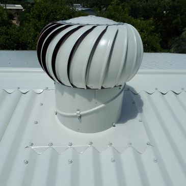 Whirlybirds- Roof Vents.