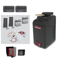 LiftMaster CSW24U Commercial Swing Gate Operator with 40W33A Solar Kit Gate Motor Opener Repair