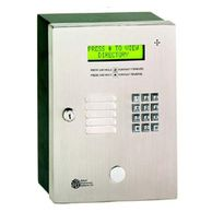 Select entry system TEC1 series provides Basic Telephone Entry with 2 line display gate motors