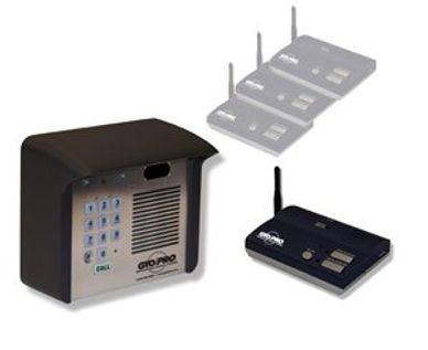 GTO Estate Wireless Intercom / Keypad available at gate motors unlimited
